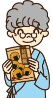 養老院や病院へお菓子を選ぶ楽しさをお届け!